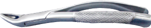 """Dental Extractor Forceps, Upper Jaw, Angled Head  7"""""""