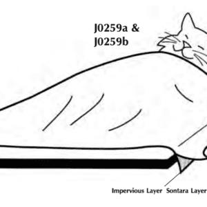 "Impervious Drape Material  40"" x 42"""