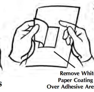 "Avian/Exotic Adhesive Drape  44"" x 44"""