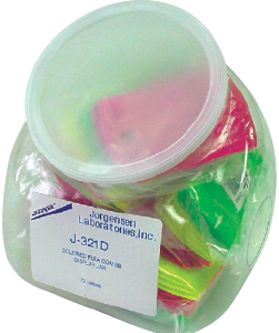 Assorted Colored Flea Combs, w/ Display Jar