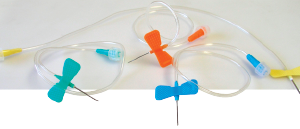 Winged I.V. Infusion Set 21g
