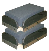 Equine Hoof Positioning Blocks