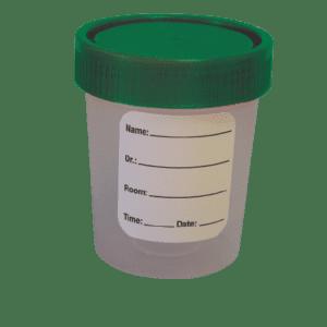 Specimen Container, Sterile, Disposable