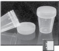 Specimen Container, Non-Sterile, Disposable