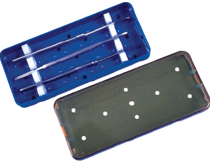 Sterilizing Tray, Knife Tray
