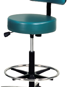 Laboratory Stool, Black