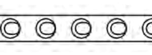 "Hybrid ""T"" Plate, 1.5mm or 2.0mm, Long"