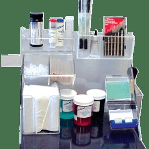 Microscope Accessories Custom Organizer
