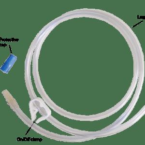 "Equine Uterine Lavage Adminstration Kits, Sinle Line w/ 60"" Large Bore Tubing"