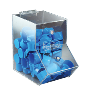 Clear Dispensing Bin, Large