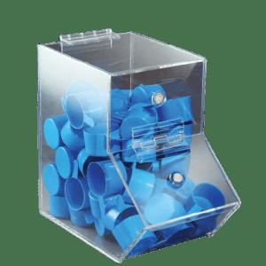 Clear Dispensing Bin, Small