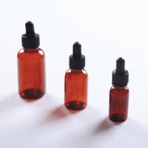Amber Dropper Bottle, 0.5oz, 12/pk