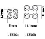 Mini H Plates 2.0mm Cuttable, Small