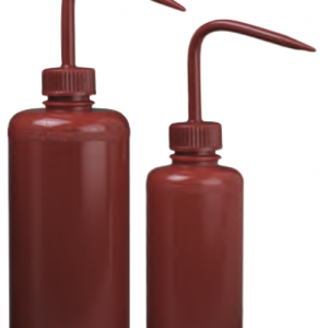 Red Wash Bottle  16oz