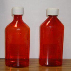 Amber Plastic Graduated Ovals, 12oz, 50/box