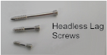 Headless Lag Screw, 3.5mm X 20mm