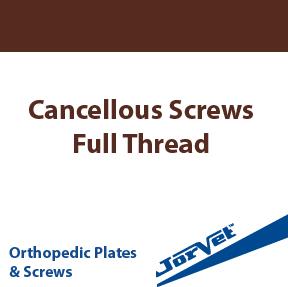 Cancellous Screws, Full Thread