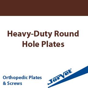 Heavy-Duty Round Hole Plates